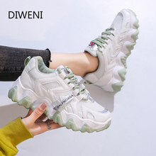 Women Shoes Breathable Air Mesh Sneakers Woman Lightweight Vulcanize White Basket Femme Spring Casual Krasovki