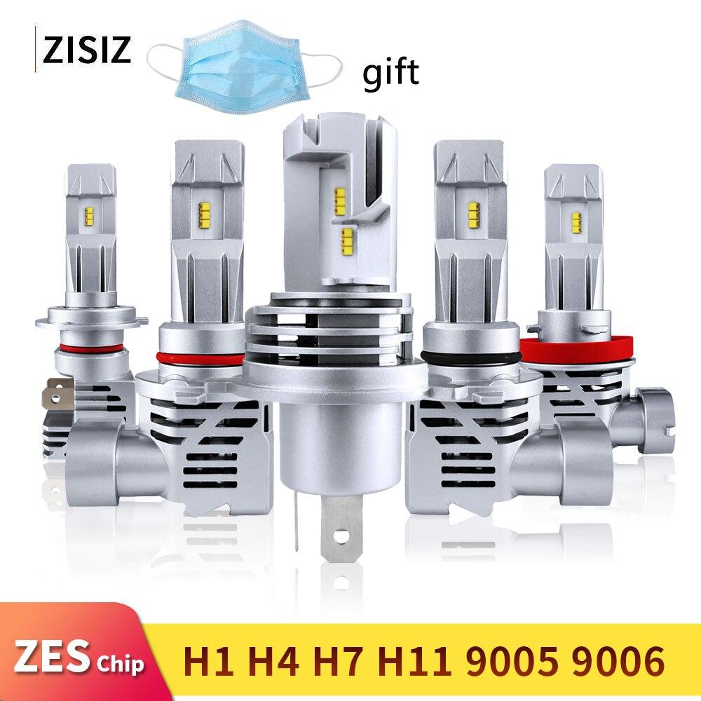 Мини светодиодный H4 H7 H11 9005 HB4 HB3 9006 H8 H9 ZES чип лампа Canbus автомобильный головной светильник 55 Вт 6000LM 6000 К светодиодный светильник противотуманная фара 24В automotivo|Передние LED-фары для авто|   | АлиЭкспресс
