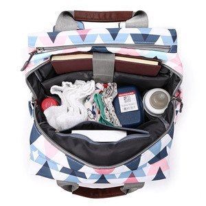 Image 4 - Múmia mochila grande capacidade maternidade fralda do bebê bolsa de viagem tote designer de enfermagem saco de carrinho de fraldas para cuidados com a mãe bebe
