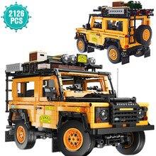 Alta-tecnologia especialista moc famoso super esporte carro blocos de construção velocidade fora de estrada veículo modelo tijolos presente de aniversário brinquedos para crianças