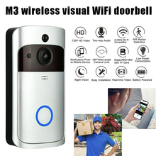 2019 Hot WiFi Smart Video Doorbell HD Security Camera Wireless Intercom PIR Wide-Angle for Home For DOY