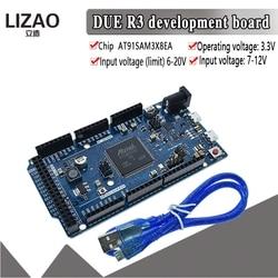 Официальная плата DUE R3 AT91SAM3X8E SAM3X8E, 32-битная ARM плата управления, модуль для Arduino, макетная плата для Arduino