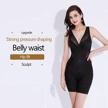 Women Shapewear Bodysuit Waist Corset Body Trainer Sweat Vest Bustiers Body Shaper Slimming Belt Tummy Control Push Up Underwear