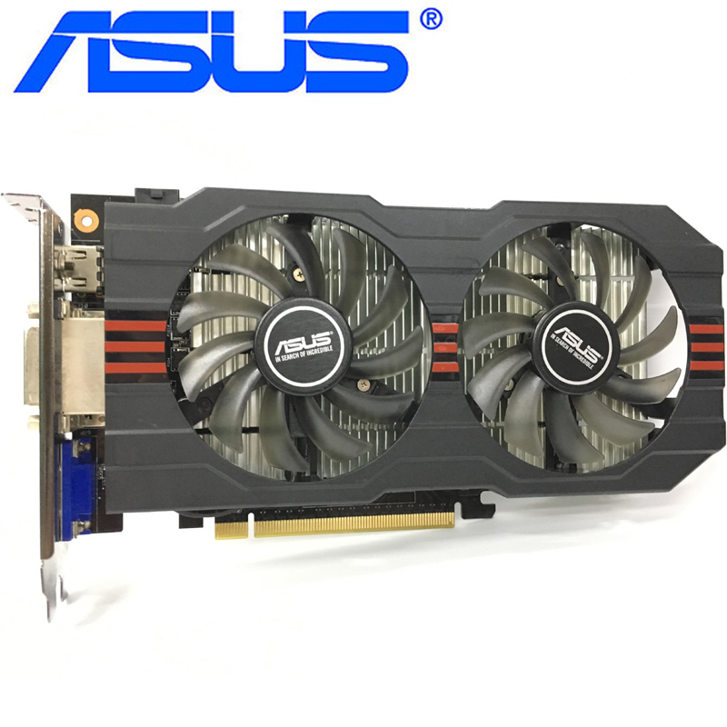 ASUS GTX 750Ti 2GB Graphics Card 128Bit GDDR5 Video Cards for nVIDIA Geforce GTX 750 Ti 2GB GTX750Ti 2GB VGA Cards 1050 Used|Graphics Cards| - AliExpress