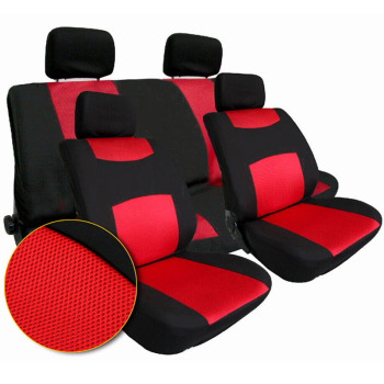Car Seat Cover Set Universal Covers for Automobile Car Interior Front Rear Cover for Hyundai Accessories