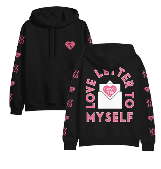 New Love Letter To Myself Payton Moormeier Hoodies Women Men Pytn Printed Hoodie Sweatshirt RU Funny Tshir Unisex Tracksuit