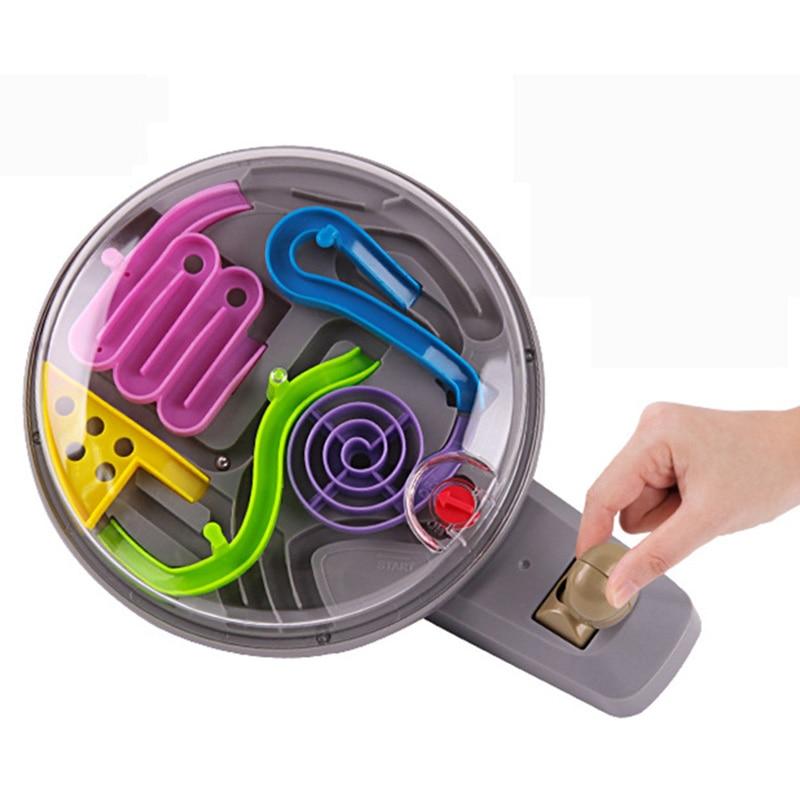 brinquedo, brinquedos clássicos educacionais lidar com a bola do labirinto