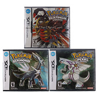 For Nintendo DS 2DS 3DS Video Game Cartridge Console Card Poke Series US Version