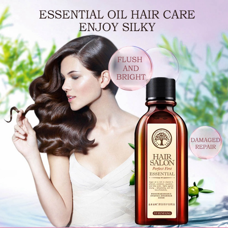 Hair Care Essential Oil Moisturizing Anti-Drying Repair Damaged Hair Quality Leave-In Conditioner image