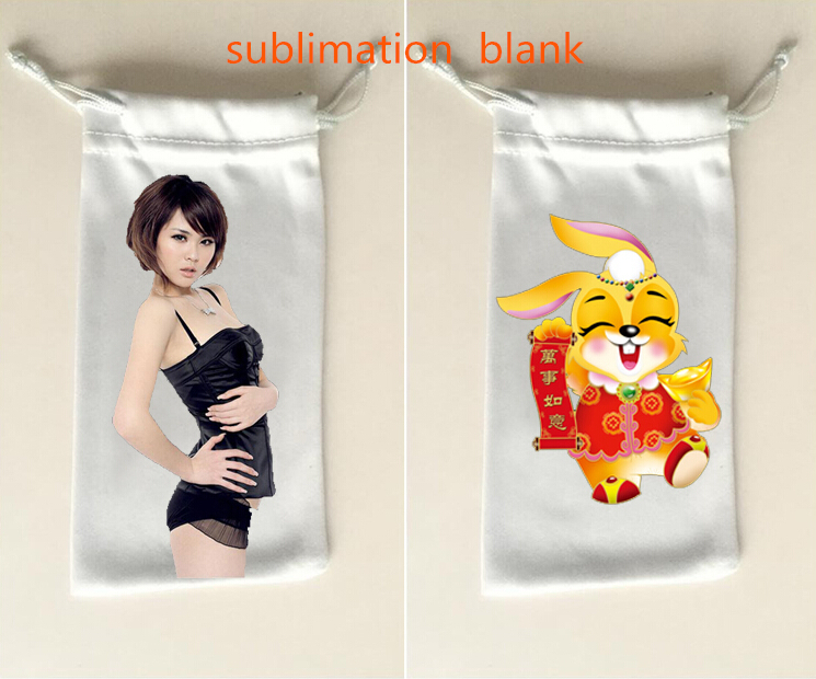 Confident 30pcs/lot Sublimation Blank Drawstring Storage Bags Purses High Quality Hot Transfer Diy Custom Consumables 9*17cm New Styles