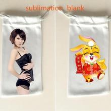 30pcs/lot sublimation blank drawstring storage bags Purses high quality hot transfer diy custom consumables 9*17cm new styles
