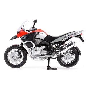 Image 4 - Maisto 1:12 R 1200 GS S 1000 RR ZX 10R Z900RS H2 R CBR600RR Diavel Carbon Monster 696 Diecast Alloy Model motocykla zabawka