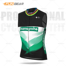 NEW Man Sleeveless Cycling Jersey Hansgrohe vests pro race 2020 Team shirt summer Breathable MTB Tops Road Bike clothing cheap Ralvpha Polyester Stretch Spandex CM-BOR-A0 Full Zipper Fits true to size take your normal size Quick Dry Anti-sweat