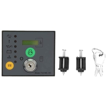 Generator Controller, DSE702MS Generator Control Panel Generator Controller Manual Start Stop Module Quality Components  - buy with discount