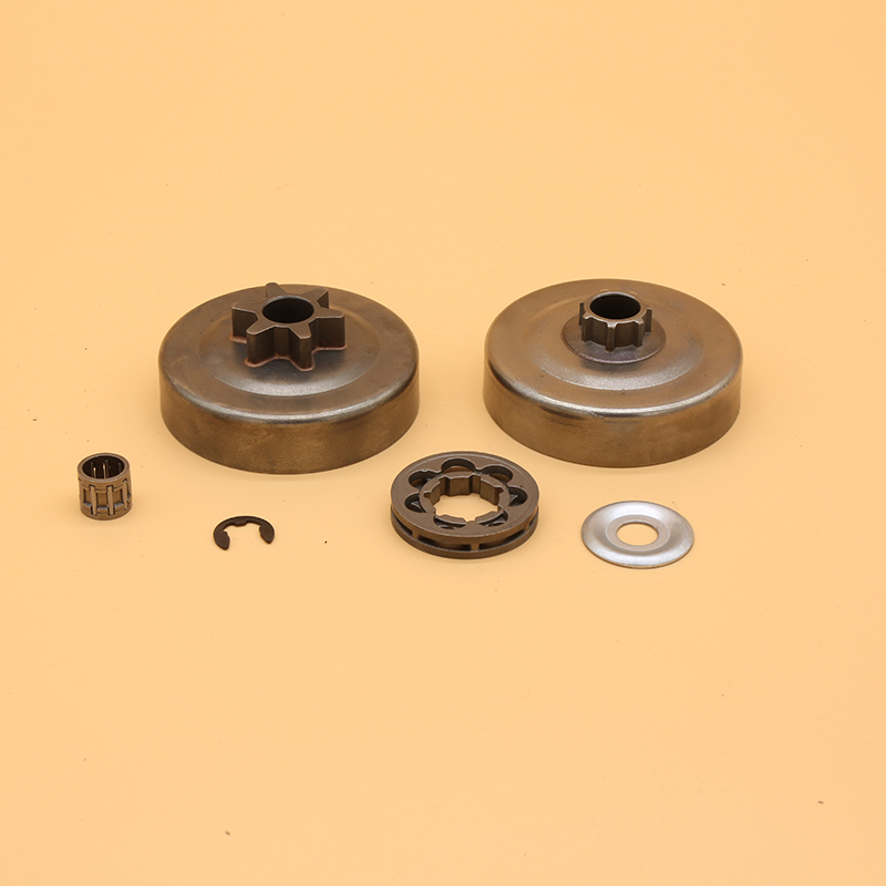 3/8 6T Clutch Drum P7 Sprocket Rim Needle Bearing Washer Kit For STIHL MS170 MS180 MS210 MS250 017 018 021 023 Chainsaw Parts
