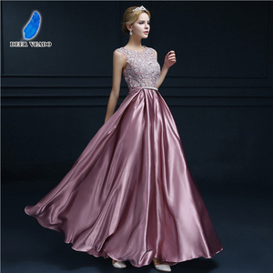 Image 4 - DEERVEADO S306 Sexy See Through Plus Size Prom Dresses A Line Floor length Long Formal Dress Evening Gown Robe De Soiree