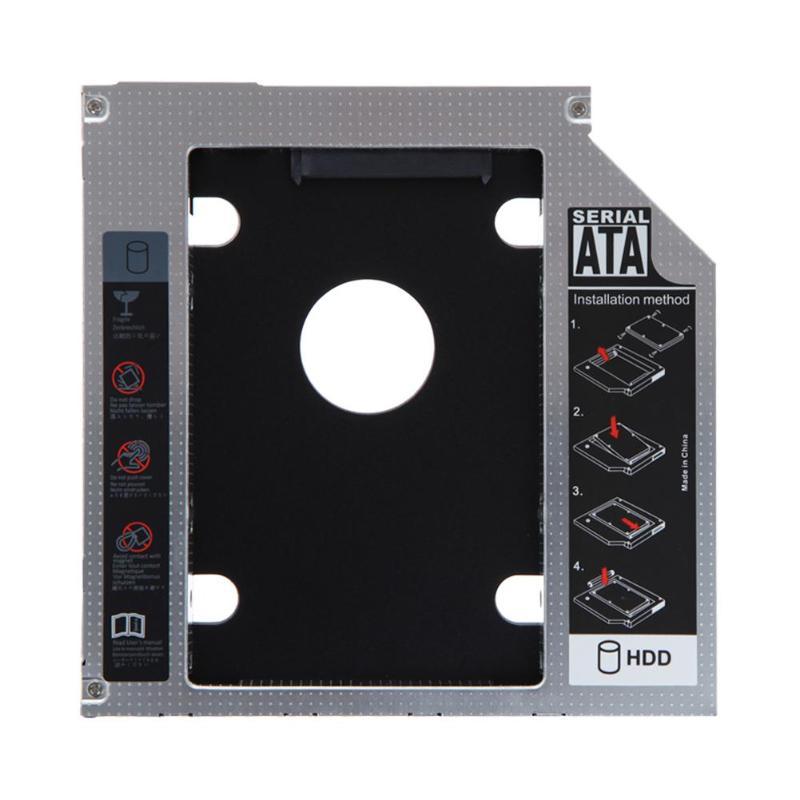 VKTECH 9.5mm/12.7mm Aluminum HDD Caddy SATA 3.0 Hard Drive Disk HD HDD SSD Case Enclosure Laptop Optical DVD Bay Adapter Holder