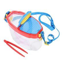 4.5X Лупа с высоким разрешением портативное наблюдение за насекомыми с пинцетом детская игрушка для наблюдения паук обучающая игрушка