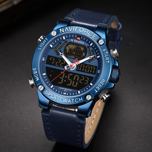 Image 5 - Naviforce 男性の腕時計 2019 ブランドの高級デュアルディスプレイメンズビジネス男性腕時計メンズ腕時計メンズ腕時計トップブランドの高級