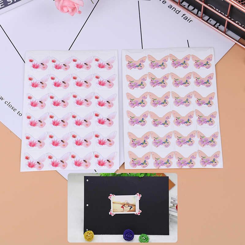 1 Tấm Mới Đến Bán Chạy Hoạt Hình Dễ Thương Góc Ảnh Dán DIY Hình Ảnh Cho Bé Hay Album Scrapbook Album