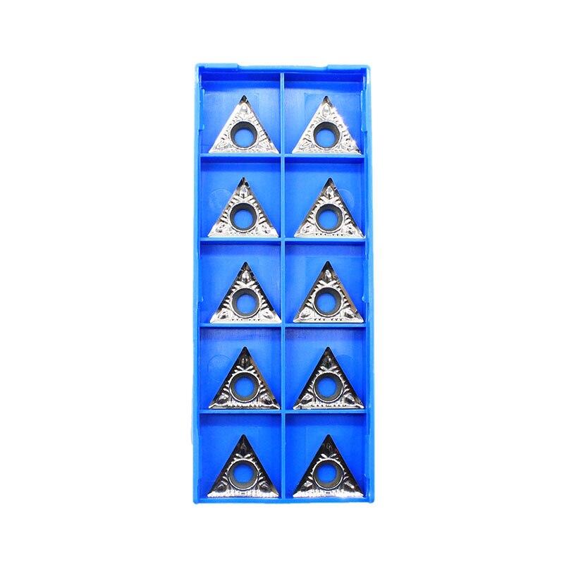 10 PCS DCGT 070204-AK H01 Carbide Inserts for Aluminum KORLOY DCGT 21.51-AK