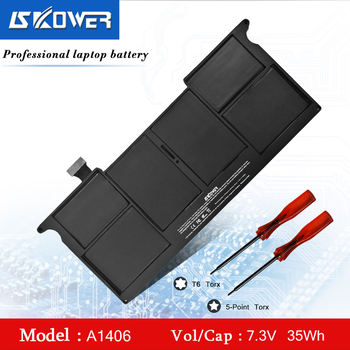 SKOWER 35WH A1406 Battery For Apple MacBook Air 11 inch A1370 (Mid 2011) A1465 (2012-2014) Series Laptop, Replacement A1495 аксессуар аккумулятор zip 35wh 7 3v 117319 для apple macbook air 11 a1370