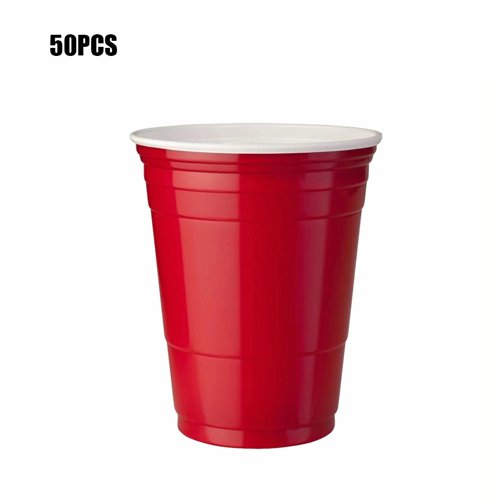 New Event Supplies <font><b>Beer</b></font> Party Drinking <font><b>Cup</b></font> For Adult Table Top Board Games Drinking Game Pub Bar Bbq Gift <font><b>Disposable</b></font> Plastic <font><b>Cup</b></font> image