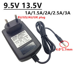 9.5V 13.5V DC 4.0*1.7mm 1A 1.5A 2A 2.5A 3A Universal AC DC Power Adapter ac/dc Power Supply For Casio Keyboard Pianos D-E95100L