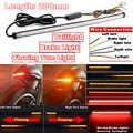 1pc DC 12-24V Moto Sequenziale LED Indicatori di Direzione Luce Fanali Posteriori Striscia Moto HA CONDOTTO LA Luce di Striscia Accessori