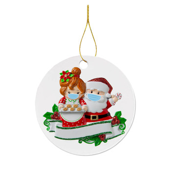 Christmas Decoration 2020 Xmas Tree Hanging Ornaments Cute Gift Product DIY Personalized Family Party Decoration For Home image
