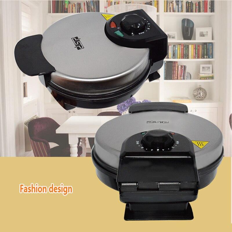Kbxstart máquina eléctrica para hacer gofres Mini máquina de sándwich de pan para hornear tostadora para desayuno automática para tortas 220V - 4