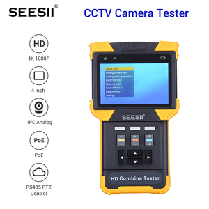 Image 1 - Test Monitor DT T71 HD 1080P IP CCTV Camera Tester Security Combine Test Monitor TDR ONVIF Security Video Cam tester