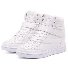 Женские кроссовки Женская Весенняя белая спортивная обувь на