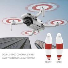 8Pcs Quick Release Propeller Mavic Mini Propeller 4726F Geräuscharm Klingen für DJI Mavic Mini Drone Zubehör