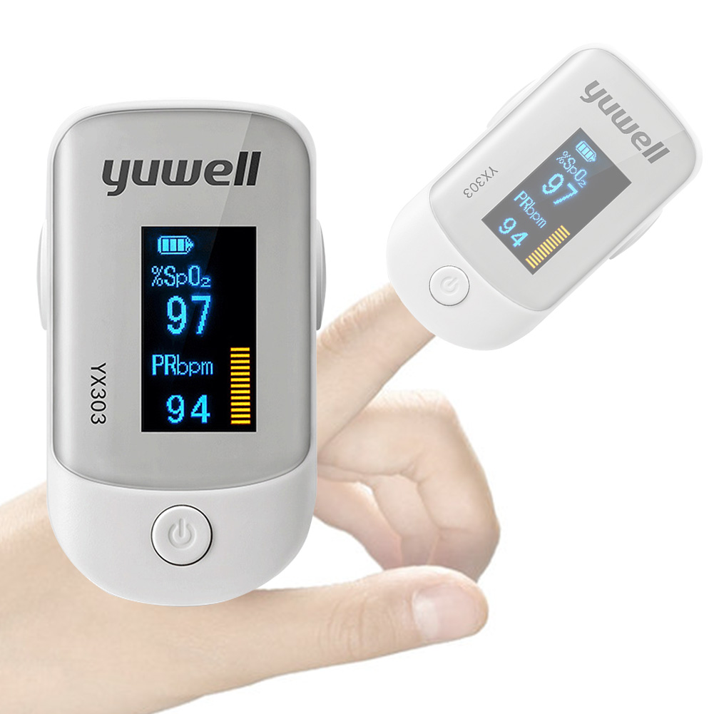 Medical Heart Rate Monitoring Fingertip Pulse Oximeter with OLED Display and Auto Shut Down 7