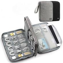 Gadżet Organizer Case Digital Storage Bag Electronics Organizer do ładowarek kable dysk twardy do IPhone Phone Protection Pouch