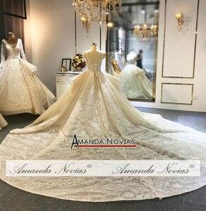 Image 4 - Amanda Novias Marke Hochzeit Kleid Fabrik Luxus Brautkleid