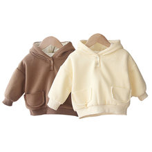 Куртка для маленьких мальчиков и девочек теплая толстая верхняя