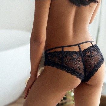 TERMEZY New Sexy Panties Women Lace Low-waist Briefs Female Hollow Out Underwear Ladies Underpants Intimates G String Lingerie 6