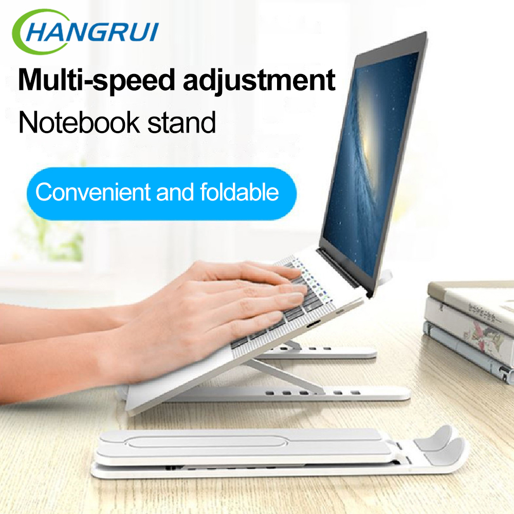 Portable Laptop Stand Adjustable Aluminium Alloy Foldable Laptop Holder Stand Desktop Stand Notebook Stand Cooling Bracket Riser|Laptop Stand| -…