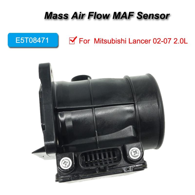 E5T08471 Mass Air Flow MAF AFS Sensor Meter For  Mitsubishi Lancer 02-07 2.0L
