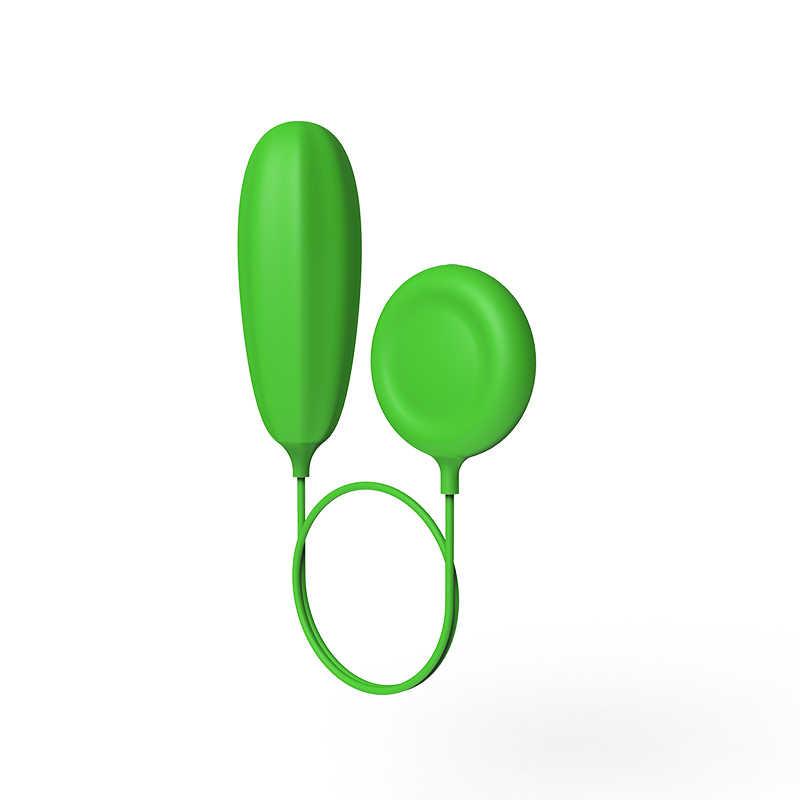 Impermeabile del Silicone Vibratore Anale Spina Giocattolo Del Sesso Prodotto Adulto 8 Clitoride Frequenza di Vibrazione della Sfera di Massaggio Proiettile Per La Donna