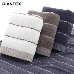 Image 1 - GIANTEX Women Bathroom Cotton Bath Towels for Adults Body Bath Wrap Towel Serviette De Bain Toalhas De Banho Handdoeken