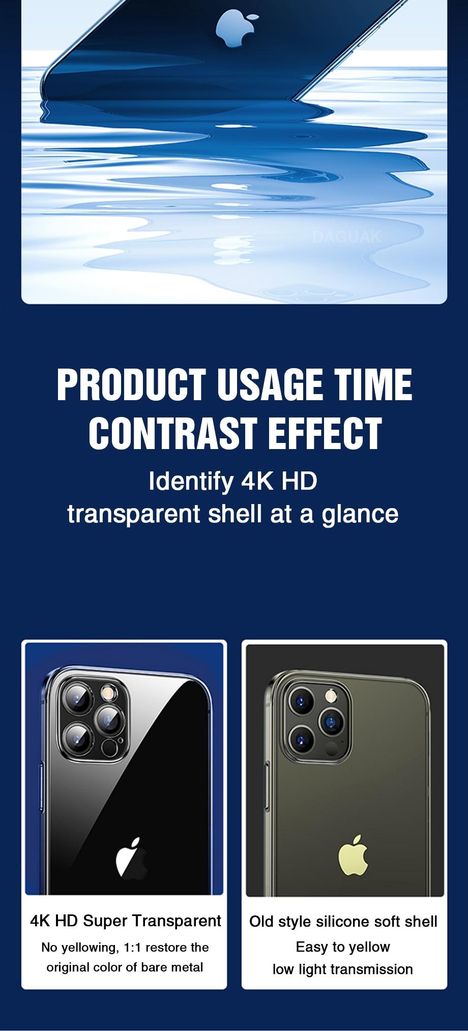 H4fcccd17393540b38a5a6552f81461ccd Capinha celular iphone case Proteção da lente da câmera clara caixa do telefone para o iphone 12 pro max silicone macio capa para o iphone 12 mini à prova de choque capa traseira presente