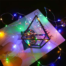 USB Remote Control Led String Lights 8 Function Fairy Light 20M 200 LED Christmas Copper Wire Brand Luces Led Decoracion 30SEP16(China)
