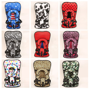 Simple Child Seat Chair For 1~12Y Kids 9 Colors Traveling Baby Sitting Cushion New Large Size Comfortable Protect Mats with Belt