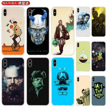 Case Soft for iPhone 12 11 Pro X XS Max XR 6 7 8 G Plus SE 2020 5 S Cover Breaking Bad Chemistry Walte image