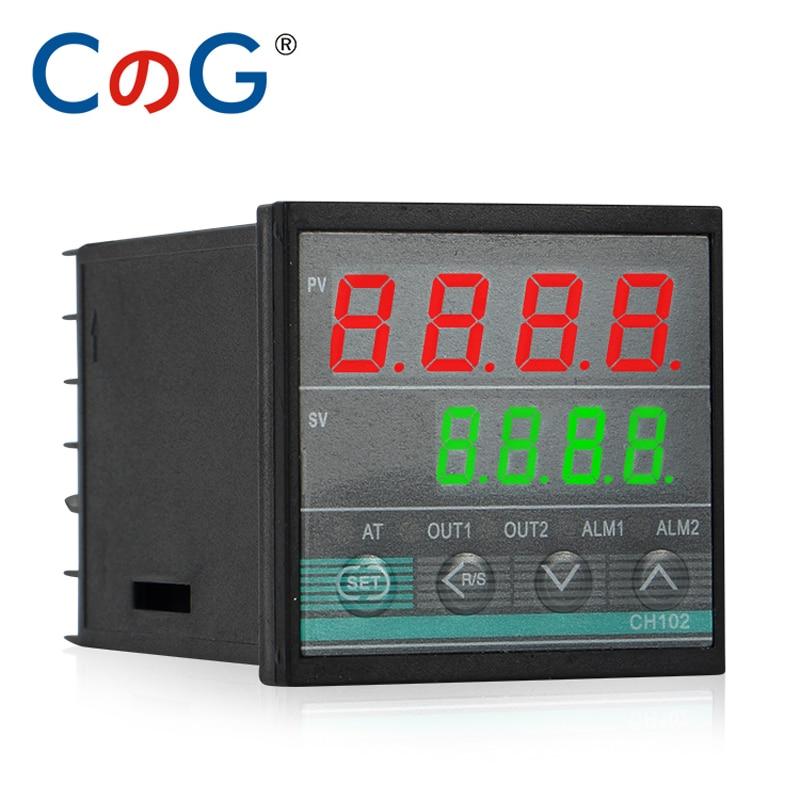CG 48*48mm Multy Input K E J PT100 0-10V 4-20mA PID Output SSR Relay AC 220V 24VDC 380V Power Supply Temperature Controller