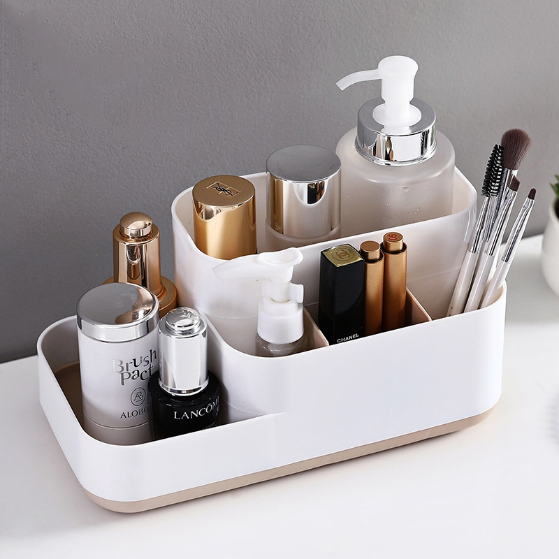 Plastic Makeup Organizer Bathroom Storage Box Cosmetic Organiser Office Desktop Make Up Jewelry Storage Box Sundries Container Storage Boxes Bins Aliexpress