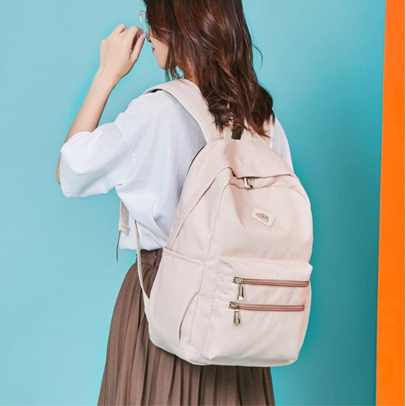 Hot explosions backapck brand for girl nylon Waterproof Backpack fashion bag casual student handbag travel